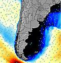 Uruguai wave energy map
