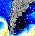 Uruguay South wave energy map
