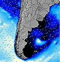 Uruguay wave energy map