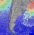 Uruguay Sea Temperature
