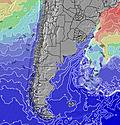 Argentina Temperaturas da Superfície do Oceano