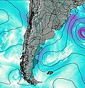 Uruguay North wind map