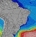 Brasile Altezza significativa delle onde