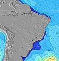 Brasil wave height map