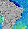 Sao Paulo wave height map