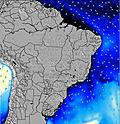 Brasil wave energy map