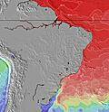 Brazil Temperaturas da Superfície do Oceano