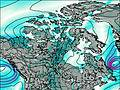 Canada wind map