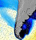 Santiago wave energy map