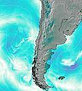Chile wind map