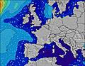 França wave height map