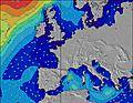 Nord Pas de Calais wave height map