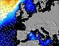 Francia wave energy map