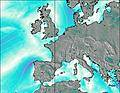 North Sea Belgium wind map