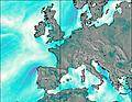 Belgium wind map