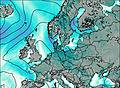 Alemania wind map
