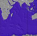 Indian-Ocean wave height map