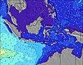 Indonesia wave height map