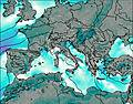 Italie wind map