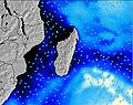 Madagascar wave energy map