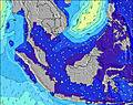 Malasia wave height map