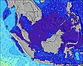 Brunei Darussalam wave height map