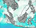 Brunei wind map
