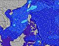 Philippines wave height map