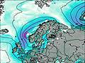 Finland wind map