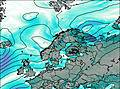 Norway wind map