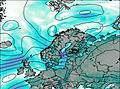 Noruega wind map