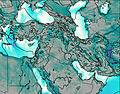 Israel wind map