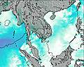Thailand wind map