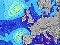 Ireland wave height map
