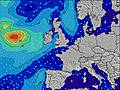 Reino Unido wave height map
