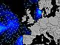 Royaume-Uni wave energy map