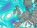 Ireland wind map