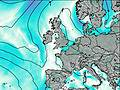 Scotland East Coast wind map